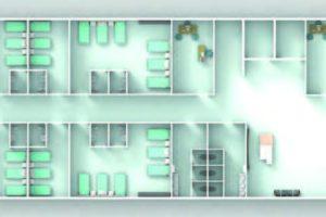 100 Beds Hospital-third-floor