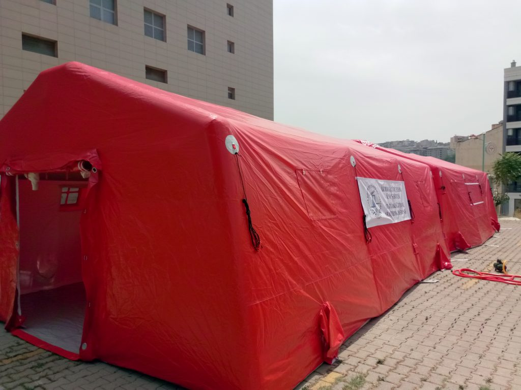 Tents and Containers